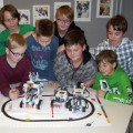 5 Roboter für Informatik AG