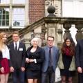 GFS-Schülerdelegation bei Auswahlsitzung des Europäischen Jugendparlaments in Ahaus